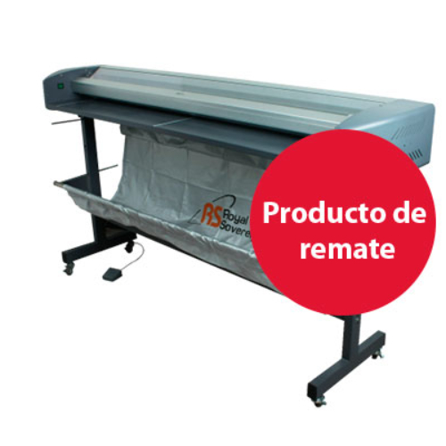 Refiladora Royal Sovereing semi automática  2.50MTS Ancho de corte